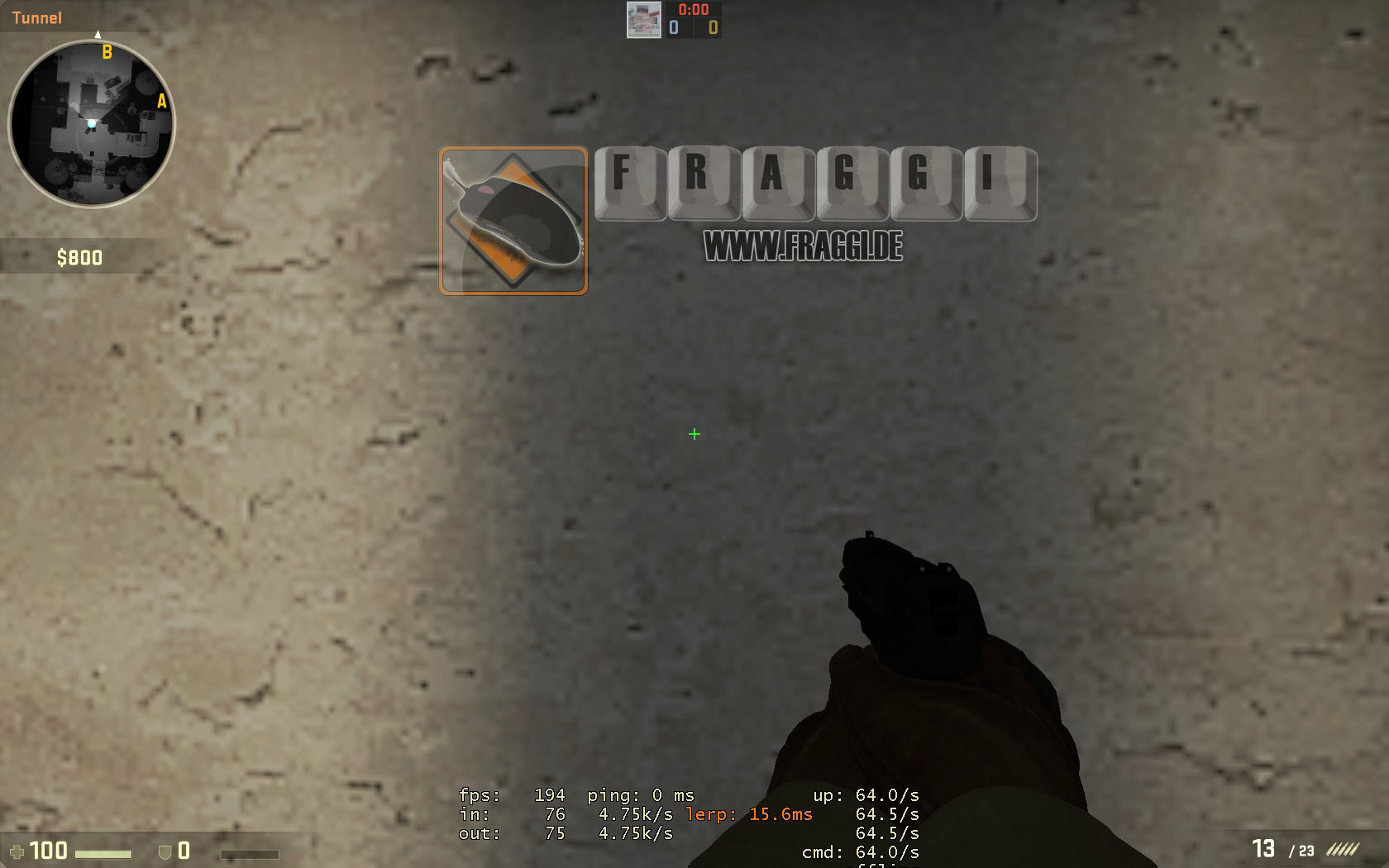 how to crosshair cs go