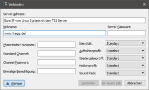 Teamspeak3-Server-verbinden