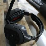 Logitech G930 Testbericht Mikrofon ausgeklappt