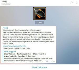 Telegram Channel FrAGgi
