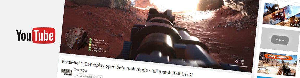 Battlefield 1 Open Beta Ersteindruck + Video