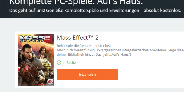 Mass Effect™ 2 kostenlos – gratis Download auf Origin