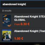 abandoned knight
