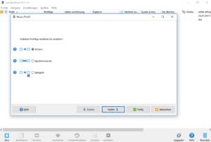 syncbackfree backup einrichten Sicherung